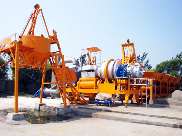 QLBY-30 small portable asphalt mixing plant