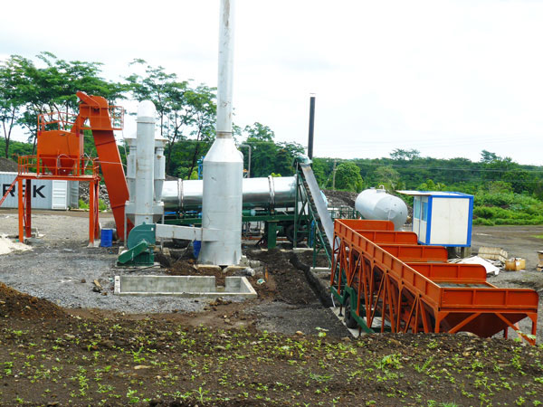 QLBY-40 asphalt mixing plant mobile