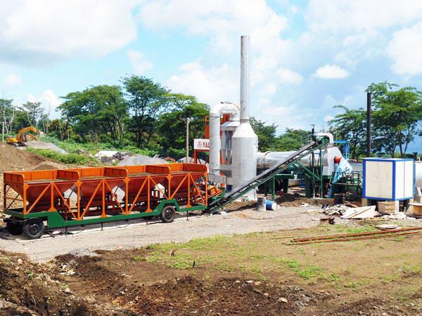 QLBY-60 small portable asphalt plant