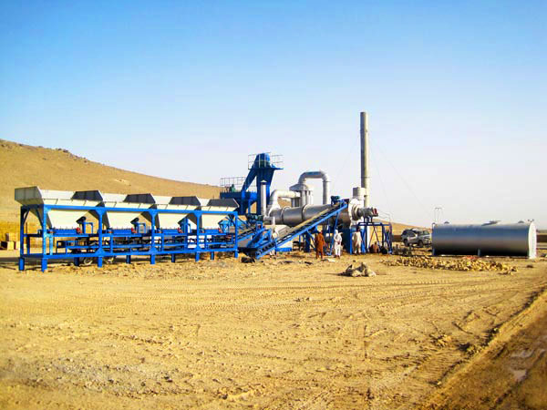 QLBY-15 small portable asphalt mixing plant