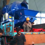 JBS40R-10-82R Diesel Concrete Pump Mixer Pakistan Delivery