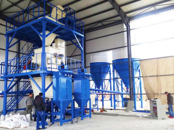 GJ15 tile adhesive manufacturing plant