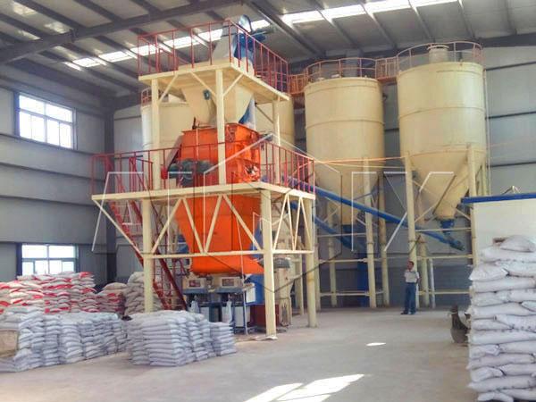 GJ30 tile adhesive manufacturing plant