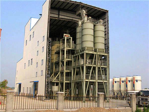 GJ80 tile adhesive manufacturing plant