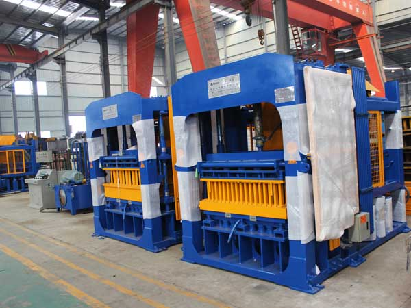 ABM-10S cement block making machine