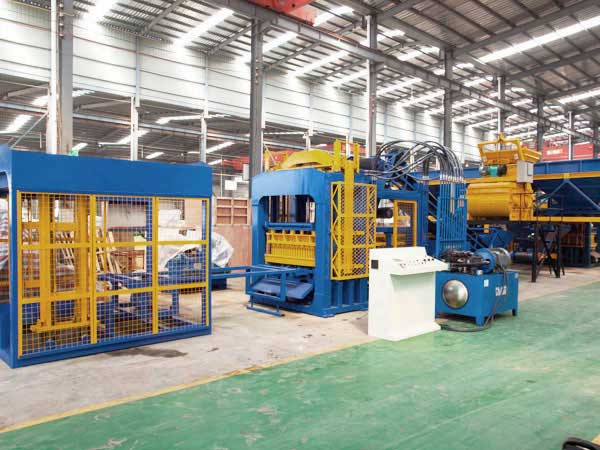 ABM-12S cement block machine
