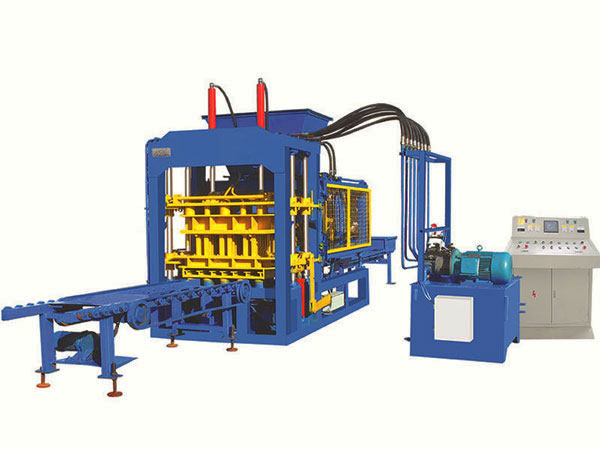 QT4-25 fully automatic fly ash brick plant