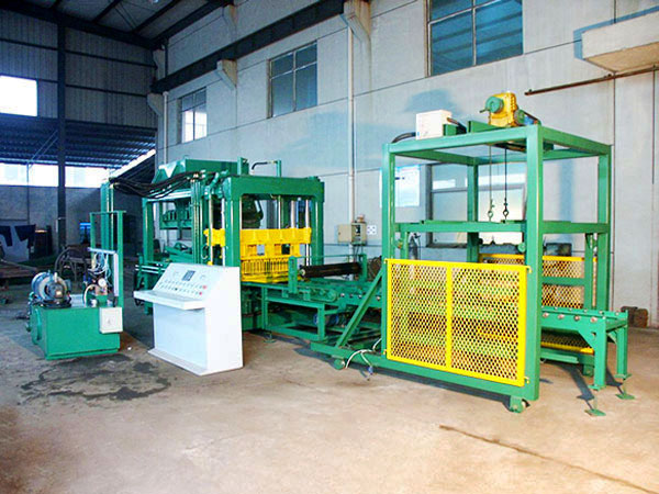 QT6-15 automatic fly ash brick machine