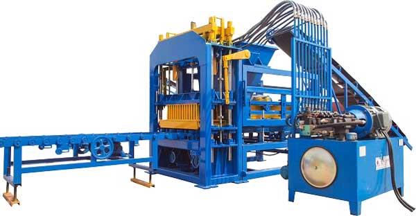 Pakistan hydraulic block machine