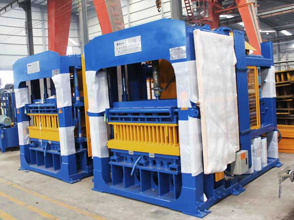 ABM-10S hydraulic brick and block making machine