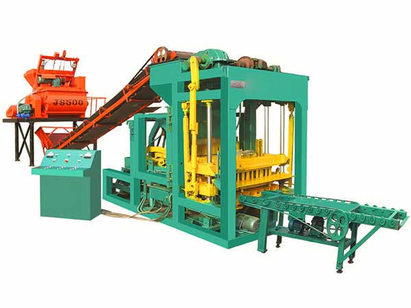 ABM-6S hydraform brick machine