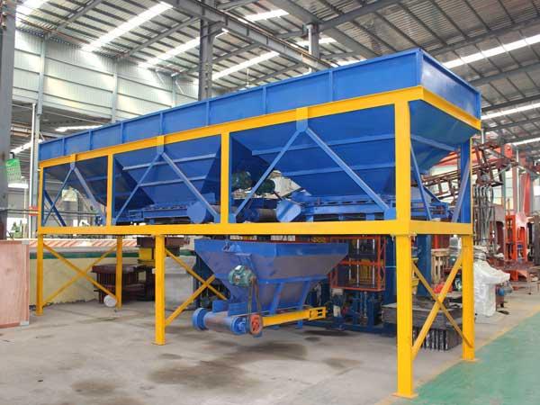 aggregate batching machine