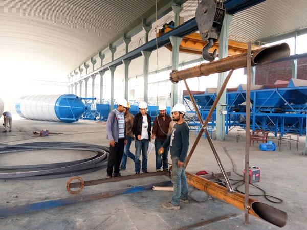 ready mix plant manufacturer