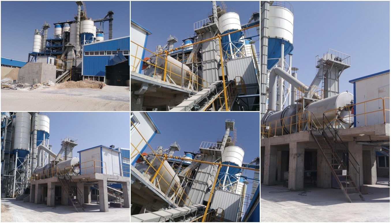 30t tile adhesive making machine in Iran
