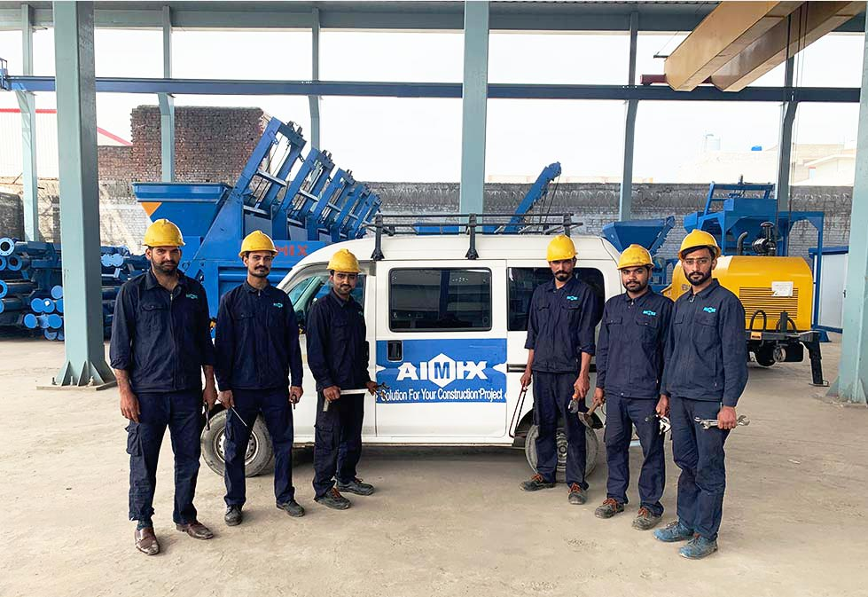 AIMIX Batching Plant in Pakistan