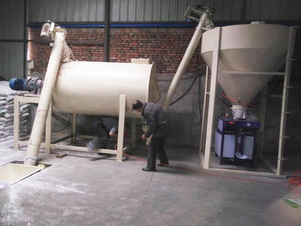 GJ05 ready mix plaster equipment