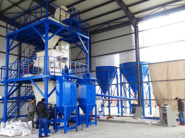 GJ15 ready mix plaster machinery