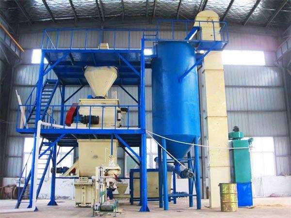 GJ20 ready mix plaster mix plant