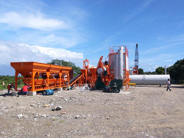 QLB60 mobile asphalt mixing plant