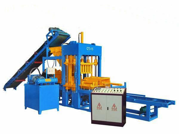 ABM-3S semi automatic block moulding machine