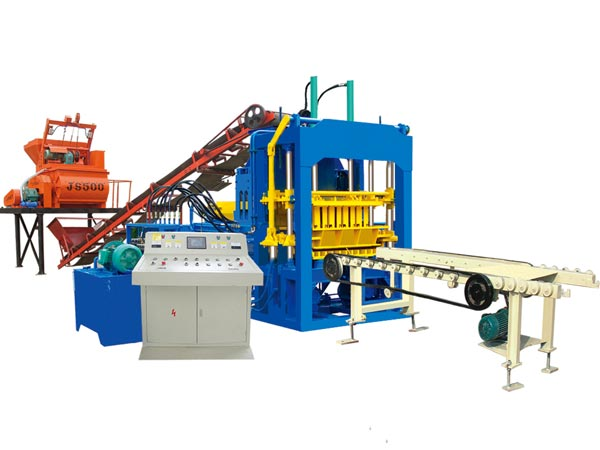 ABM-4S fully automatic block moulding machine