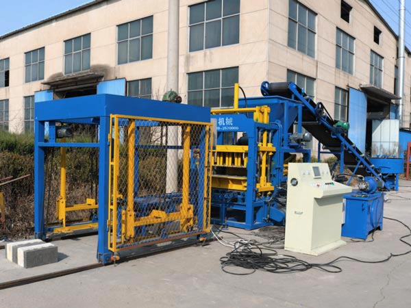 ABM-4S hollow bricks making machine
