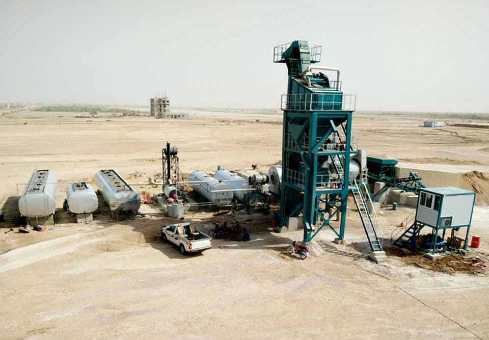 asphalt mixing plants in Pakistan