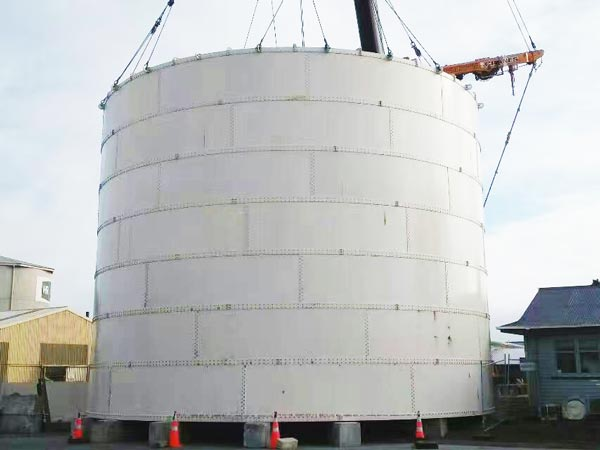 bolted type ash silo