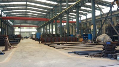 brick moulding machine workshop