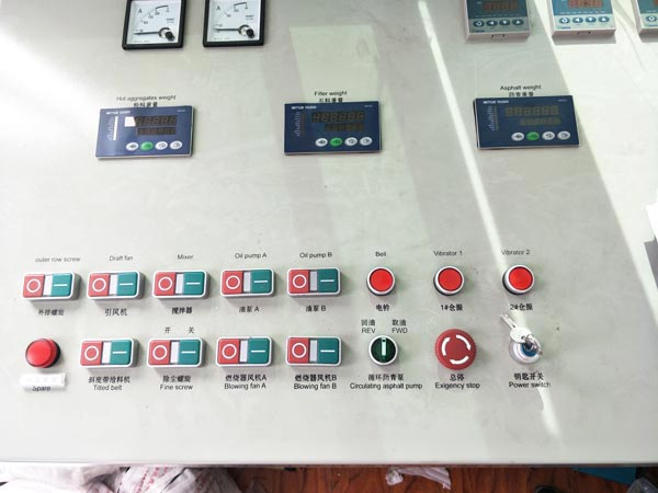 control panel of ALYQ60