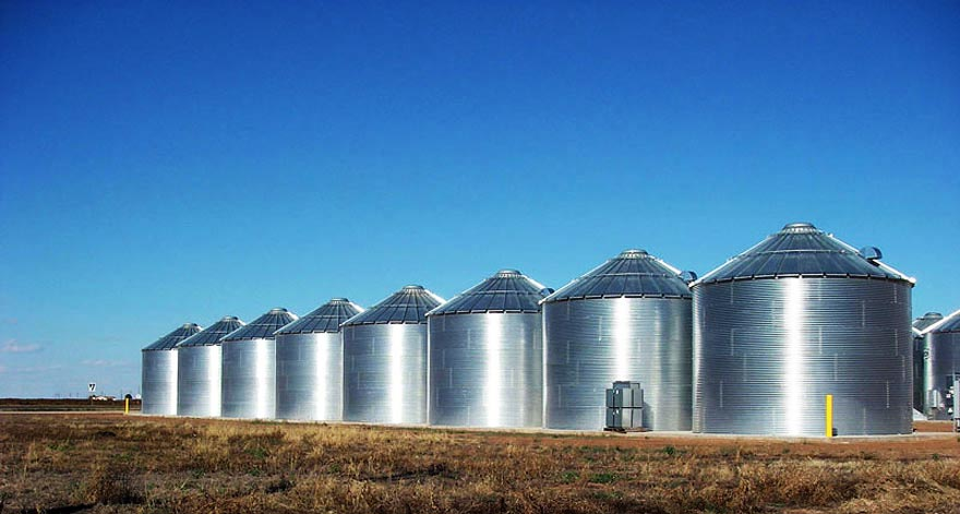 grain silos for sale