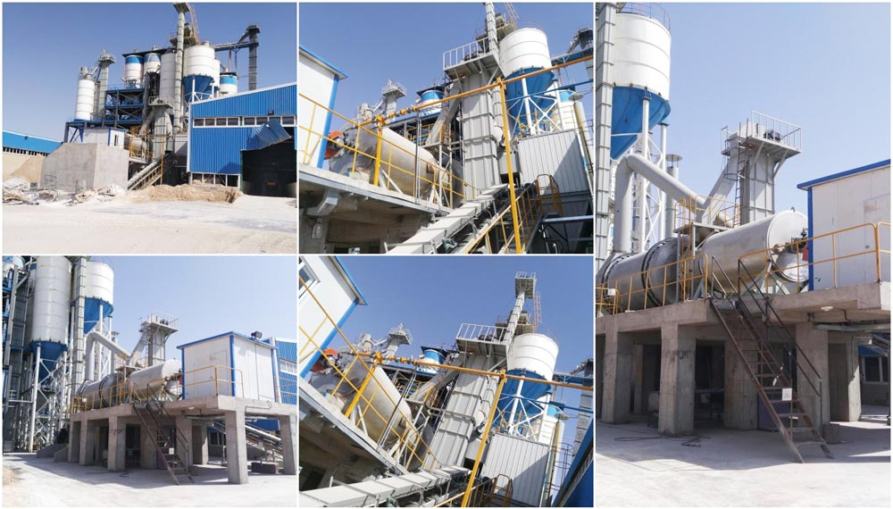 30t dry mortar plant was installed successfully in Iran