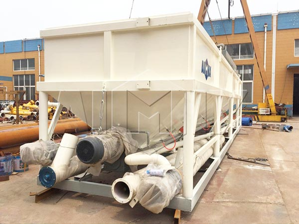 50t cement silo horizontal