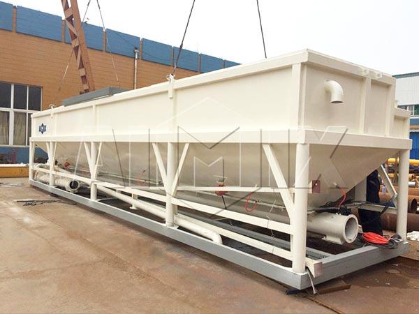 50t low level cement silo