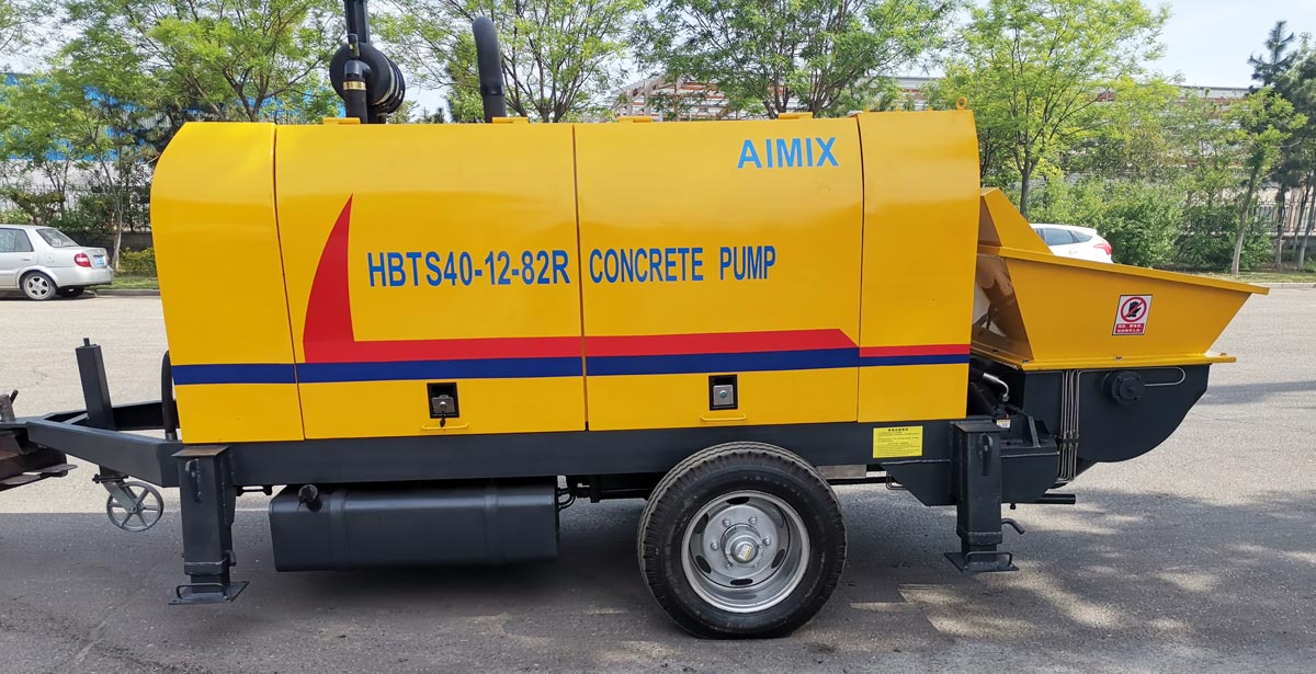 HBTS40R stationary concrete pump