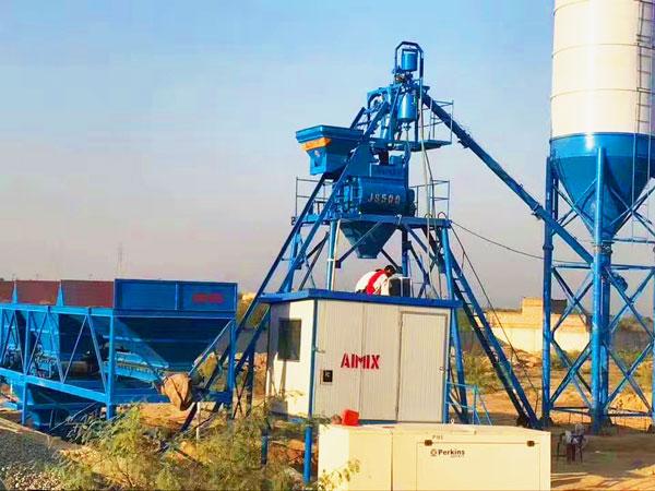 AJ-25 ready mix concrete plant