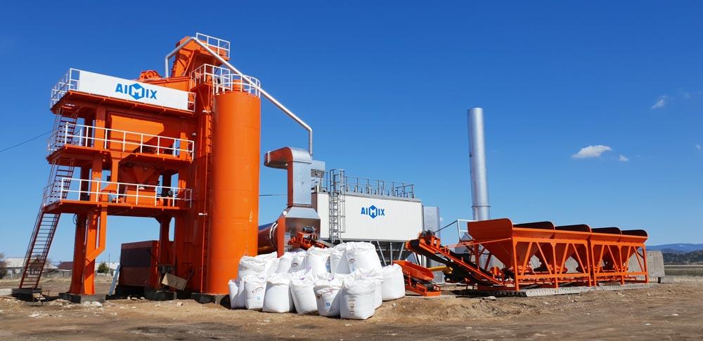 ALQ80 asphalt plant Russia