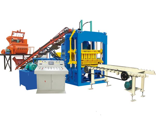 ABM-4S interlocking brick machine