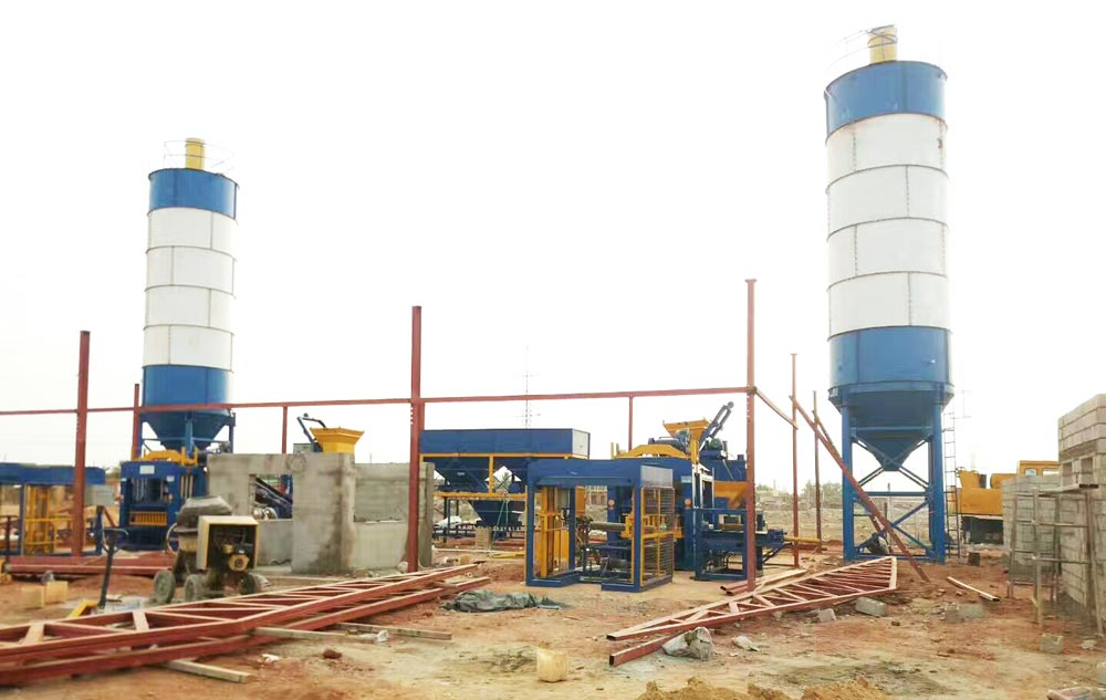 ABM-6S automatic brick making machine in Pakistan