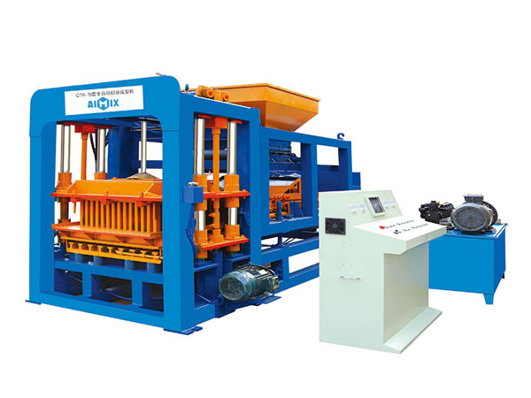 ABM-6S interlocking bricks machine