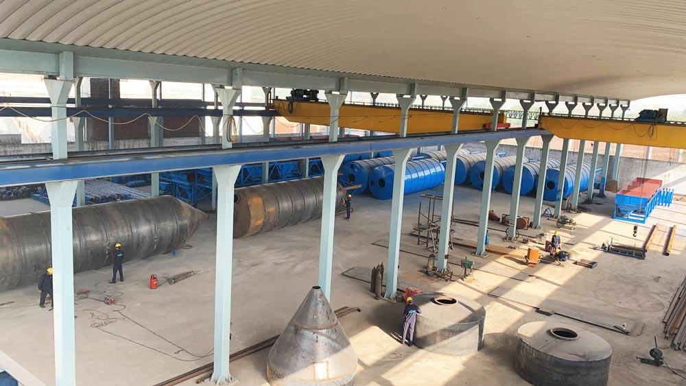Aimix cement silo factory