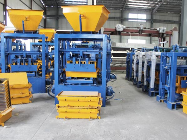 cement block machine factory