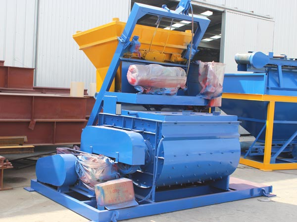 concrete mixer and batching machine