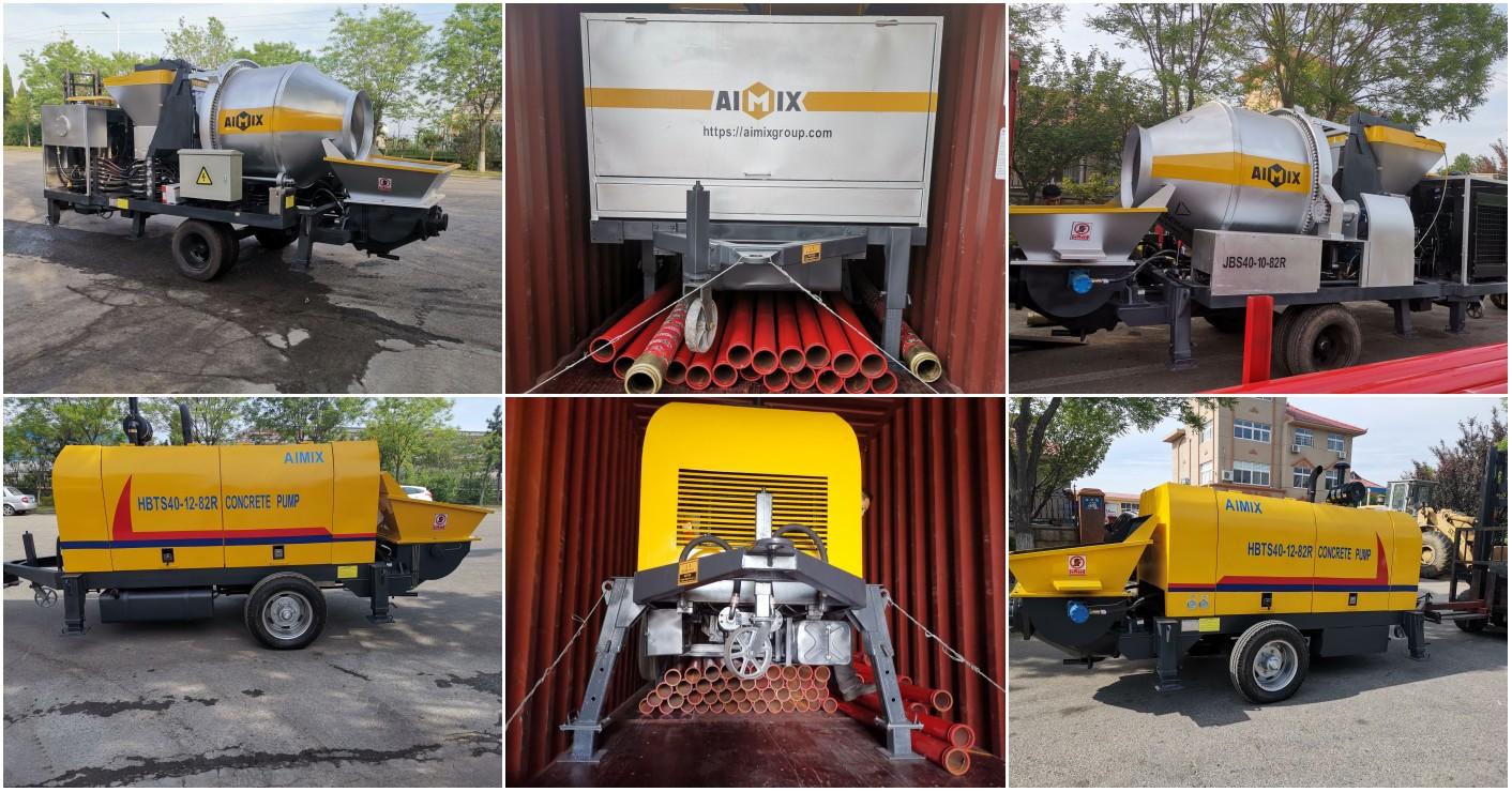 concrete pumps to Pakistan
