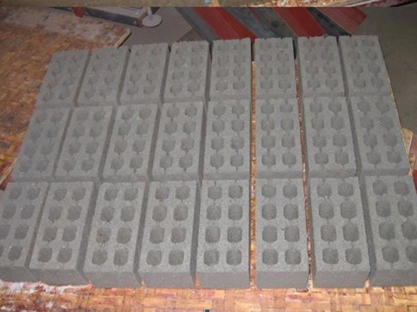 finised bricks