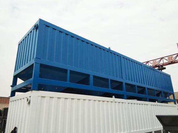 horizontal silo