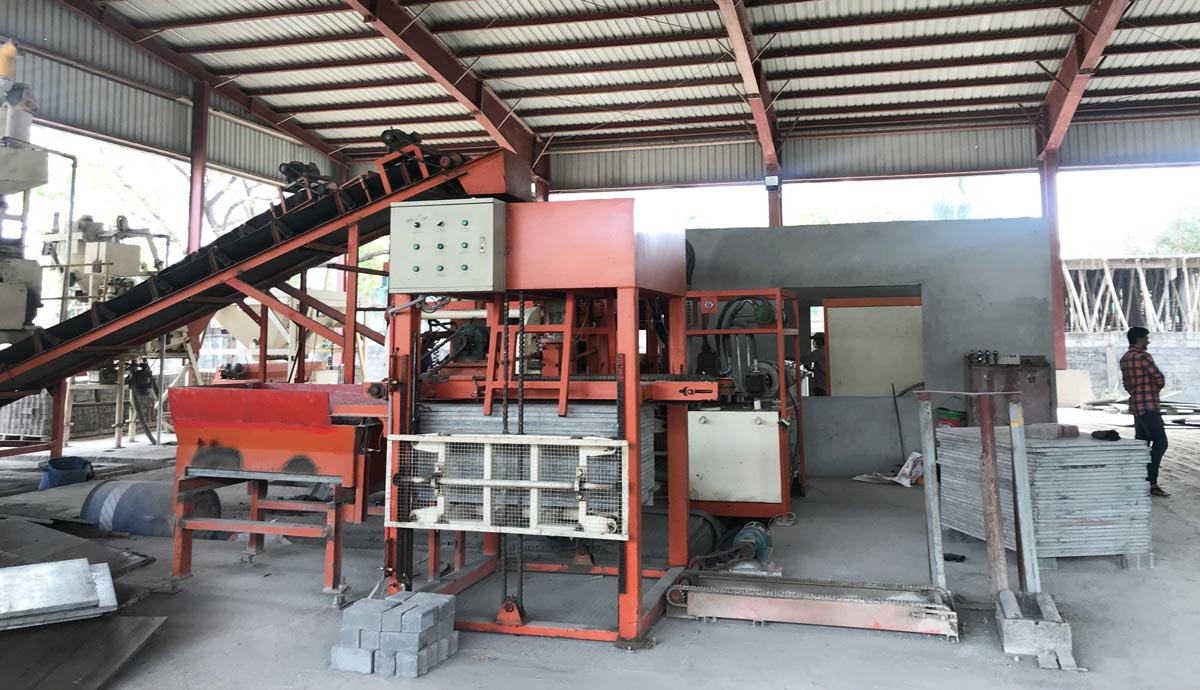 installation of fly ash bricks machine Bangladesh