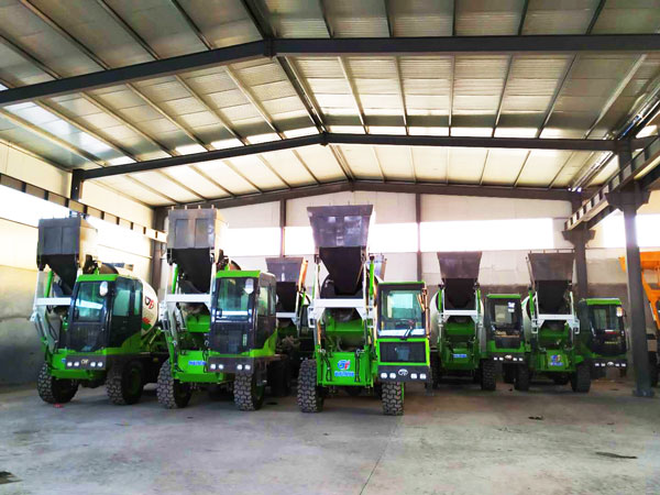 many self loading mixers in stock