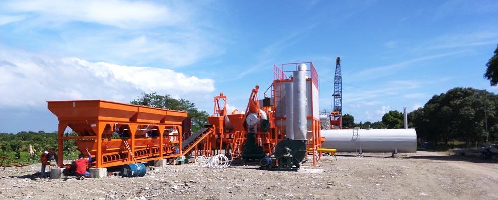 mobile apshalt mixing plant in Philippines