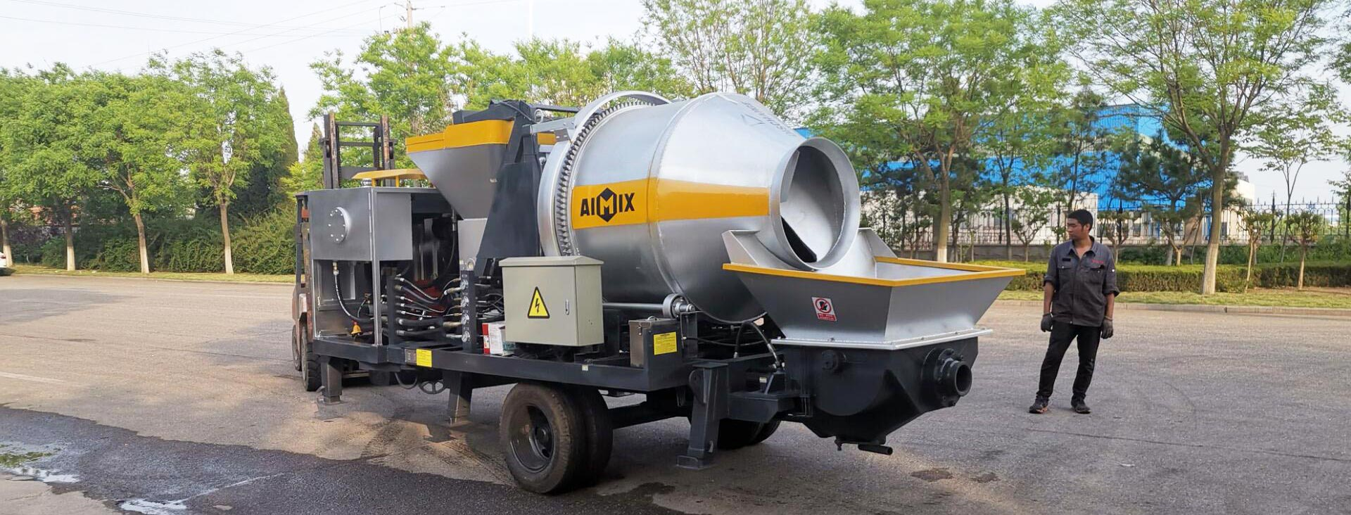 Concrete Mixer With Pump For Sale Pakistan - Diesel And